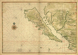 early California map