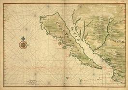 early California map